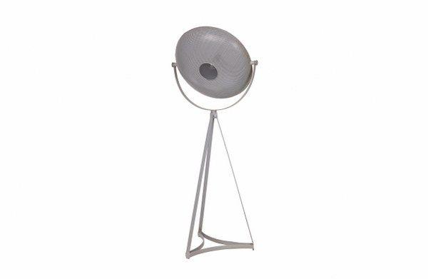 BePureHome vloerlamp Blown metaal grijs | 8714713055289