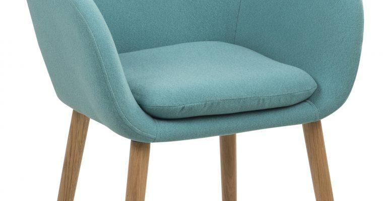 Bendt Eetkamerstoel 'Albin' kleur turquoise | 5705994827828