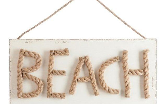 J-Line Muurbord 'Beach'   5415203724267
