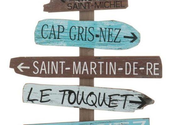 J-Line Muurbord 'Biarritz'   5415203724373