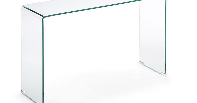 Kave Home Glazen Sidetable 'Burano', 125 x 40 cm | 8433840276663