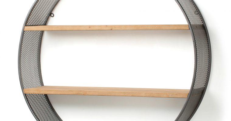 Kave Home Metalen Wandkast 'Halie' 80cm   8433840406329