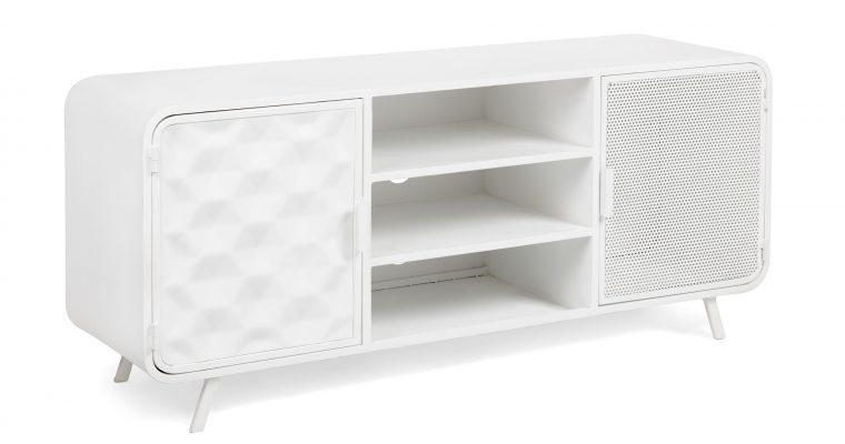 Kave Home Tv-meubel 'Rita' 140cm, kleur Wit   8433840446257
