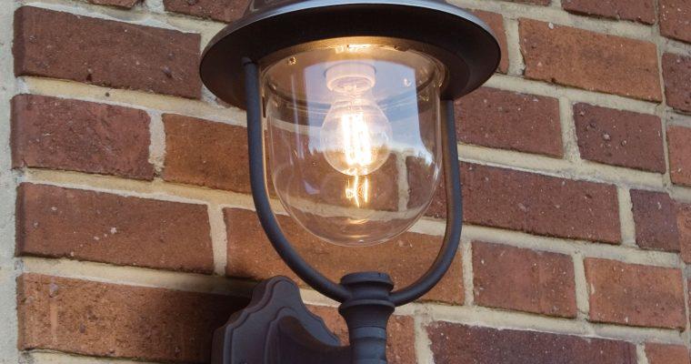Konstsmide Buitenlamp 'Parma' Wandlamp Up, E27 / 230V, RVS   7318307239003