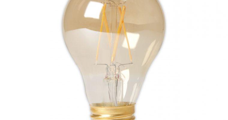 Kooldraadlamp 'Bol' E27 LED 4W goldline, dimbaar | 8712879135432