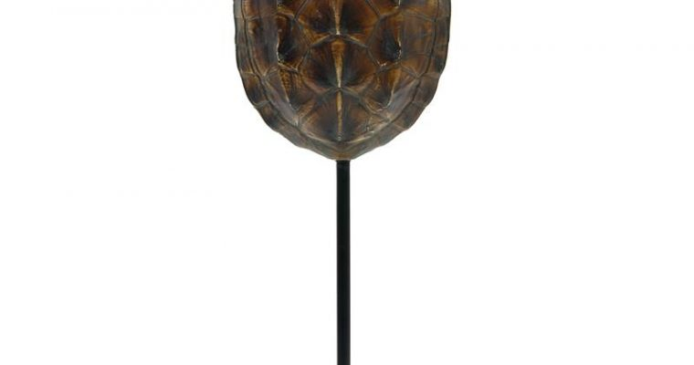 Kunst schildpaddenschild bruin | HKliving