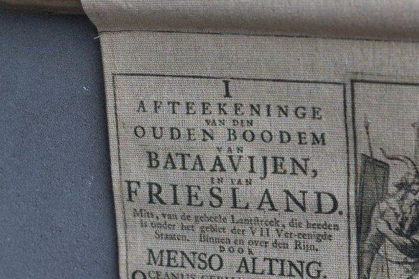 Landkaart Friesland 90 x 57 cm | 8719097003062