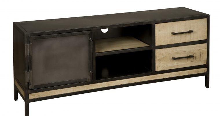 RENEW Tv-meubel 'Sheyi' met 1 deur en 2 laden, 153cm  