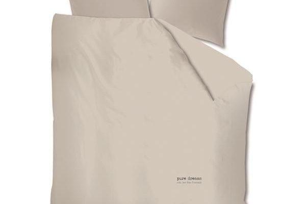 Riverdale dekbedovertrek lits jumeaux pure licht grijs 240 cm | 8717318132072