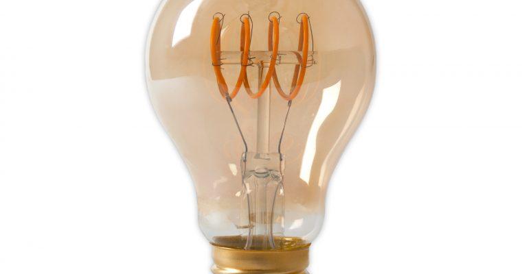 Spiraallamp 'Bol' E27 LED 4W goldline, dimbaar | 8712879025313