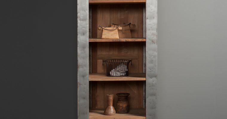 Tower Living Boekenkast 'Novara' met 1 lade |
