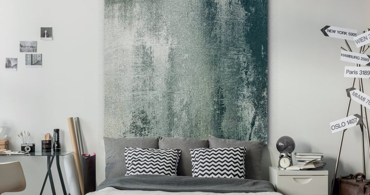 Urban Cotton Wandkleed 'Grunge', 190 x 145cm |