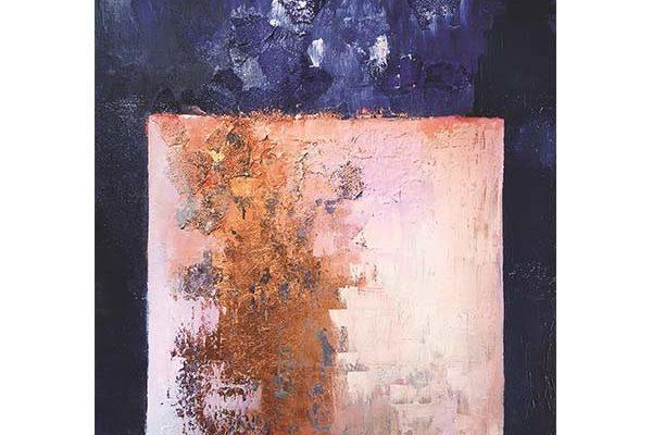 Urban Cotton wandkleed Abstract in E-mineur 80x110cm | Urban cotton