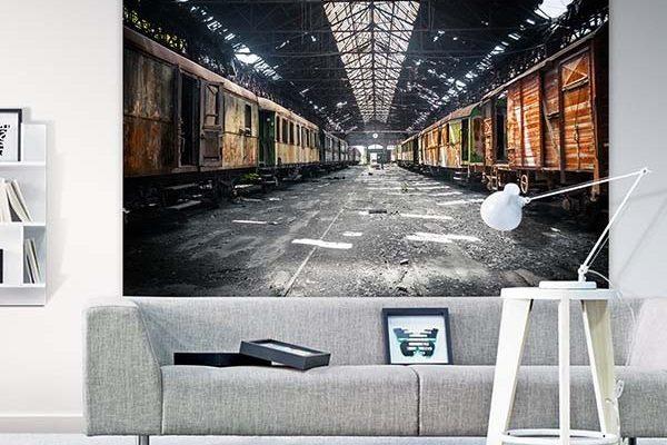 Urban Cotton wandkleed Depot 190x145cm | Urban cotton