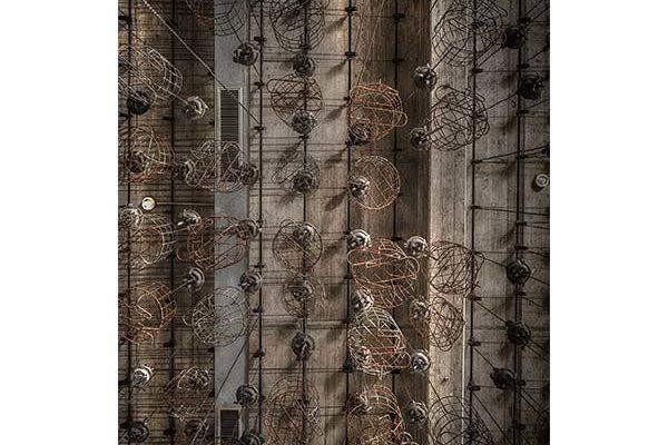 Urban Cotton wandkleed Hanging baskets 110x152cm | Urban cotton