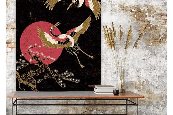 Urban Cotton wandkleed Japanese Beauty S 110x80cm | Urban cotton