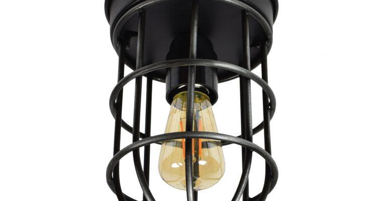 Urban Interiors plafondlamp 'Barn', kleur Vintage Black | 8719325005998