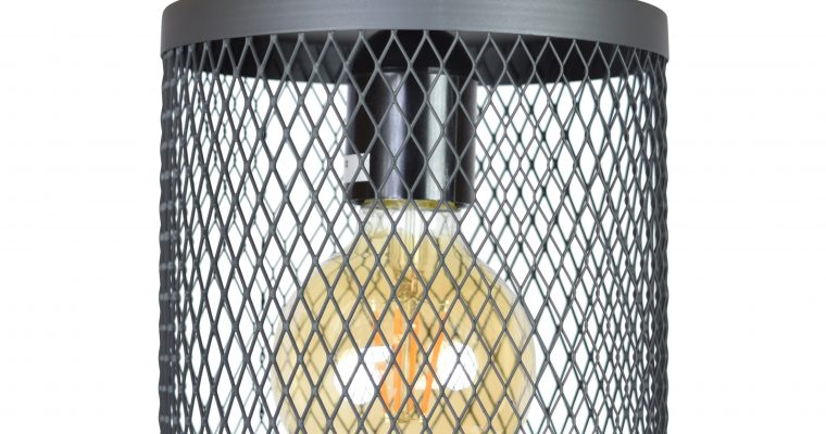 Urban Interiors plafondlamp 'Fence' Ø18cm, kleur Vintage Black | 8719325171440