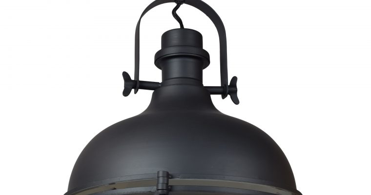 Urban Interiors plafondlamp 'Harvey Ø32cm.', kleur Mat Zwart | 8719325171136