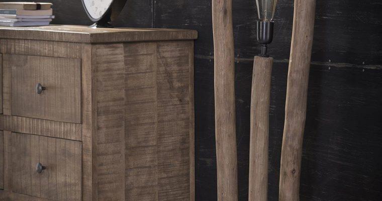Vloerlamp 3x eucalyptus / Eucalyptus |