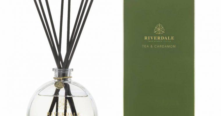 Riverdale Geurstokjes Elements groen 90ml   002008-19   Riverdale
