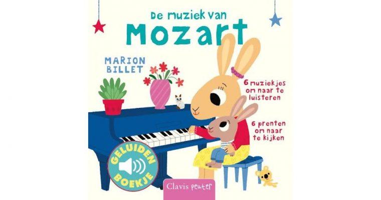 Kleuterboek De muziek van Mozart