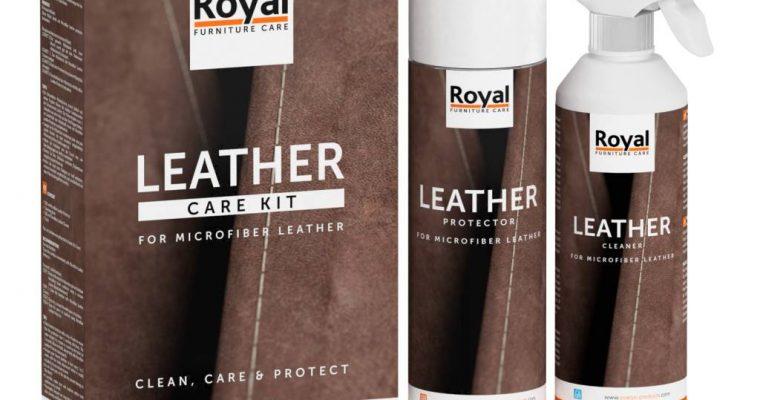Oranje Furniture Care Microfiber Leather Care Kit   142215   Oranje Furniture Care