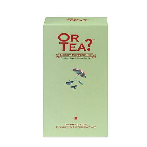 Or Tea? Navul doosje Organic Merry Peppermint