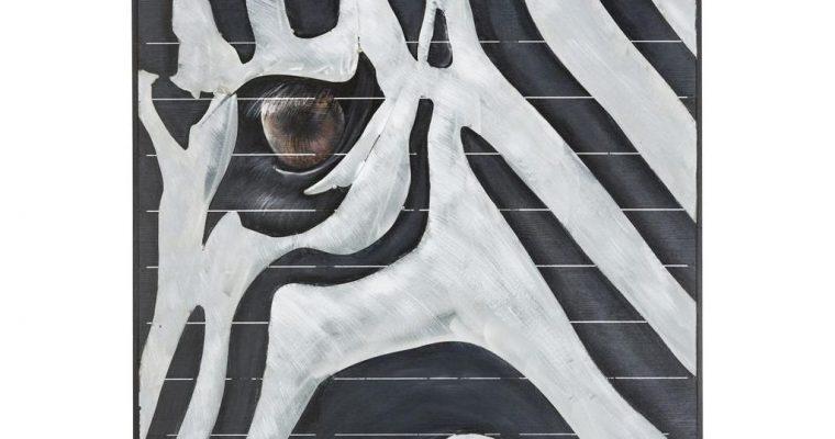 coco maison Schilderij Zebra