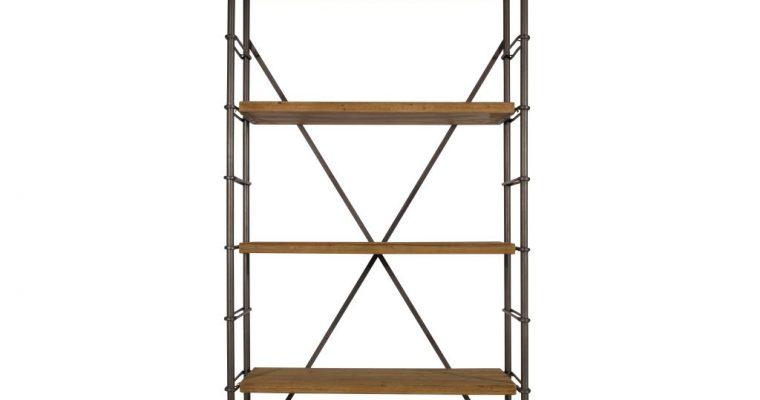 dutchbone Wandkast Iron shelf