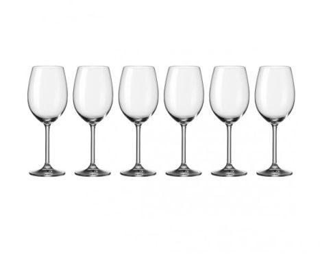 leonardo Wijnglas Daily, set van 6