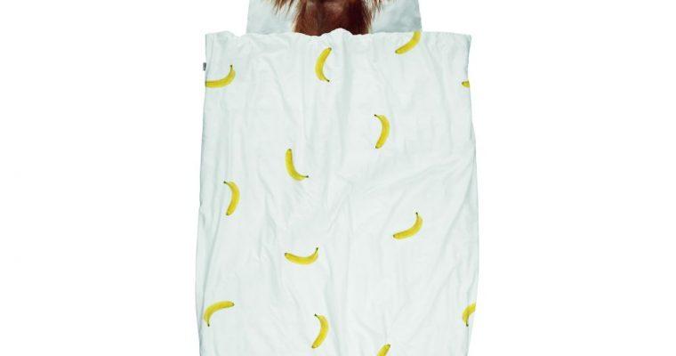 snurk overtrek 1 pers Banana monkey
