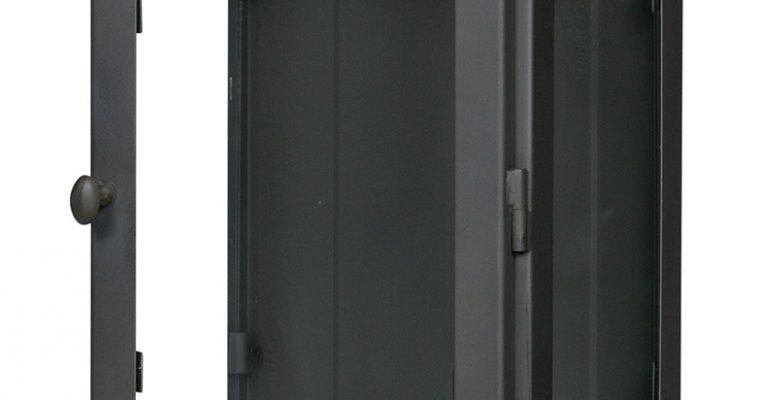 BePureHome Hangende Vitrinekast 'Manta' XL, kleur Grijs | 8714713076178