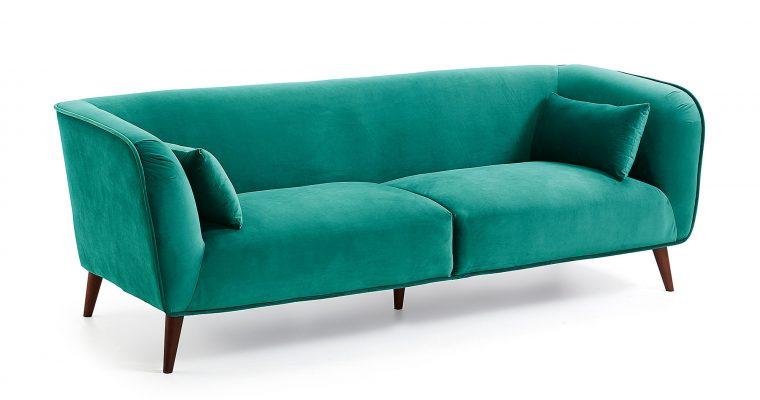 Kave Home 3-zits Bank 'Olost' kleur Groen   8433840539881