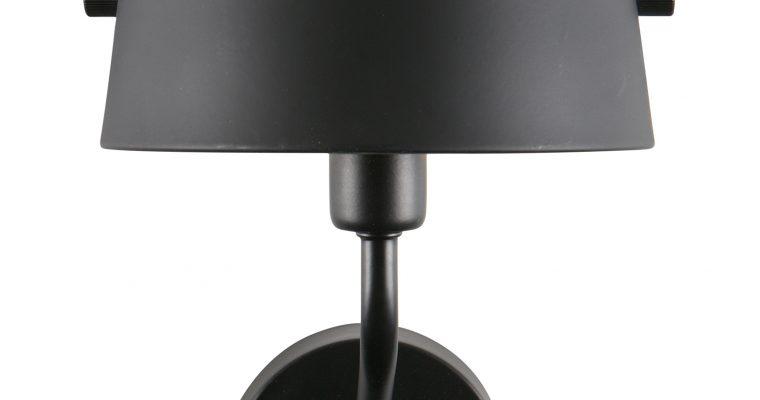 WOOOD Wandlamp 'Pien', kleur Zwart | 8714713077090