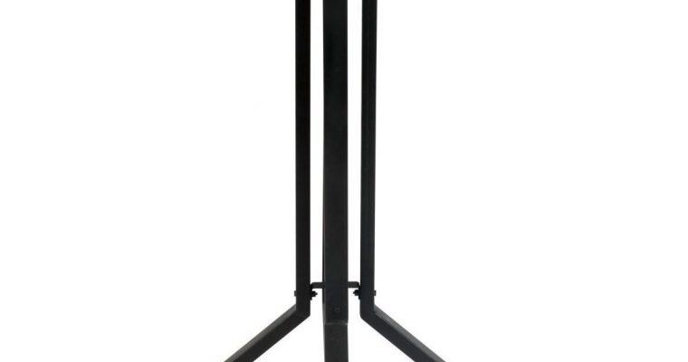 ZILT Bartafel 'Dinelson', Kleur zwart 75 x 75cm hoogte 110cm | 8718548043688