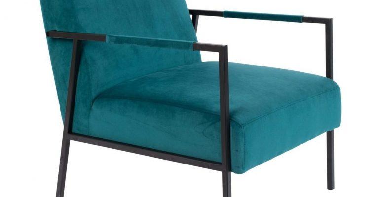ZILT Fauteuil 'Dirch', kleur Blauw | 8718548042681