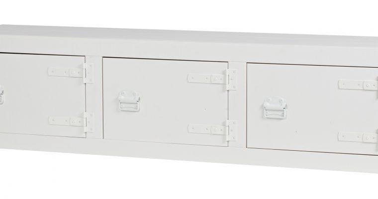 vtwonen Tv-meubel 'Bunk' 177cm, kleur Wit | 8714713082780