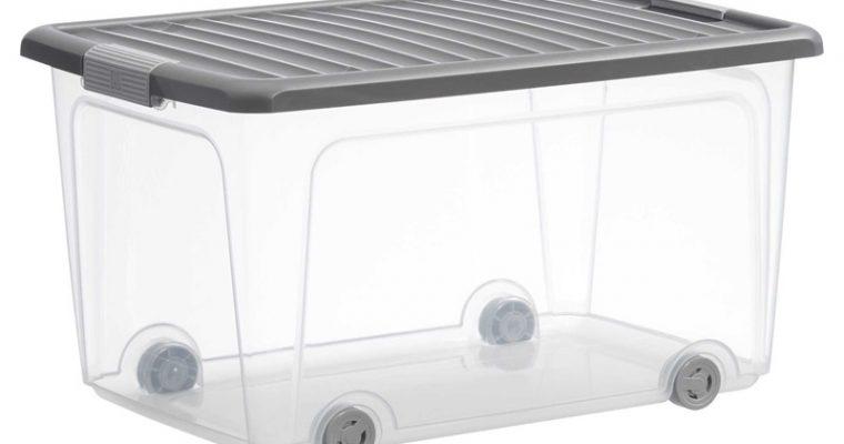 Opbergbox 50 Liter Transparant