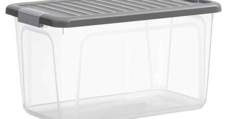 Opbergbox 70 Liter Transparant