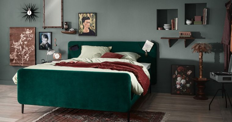 Boxspring Lifestyle by vtwonen Basil |