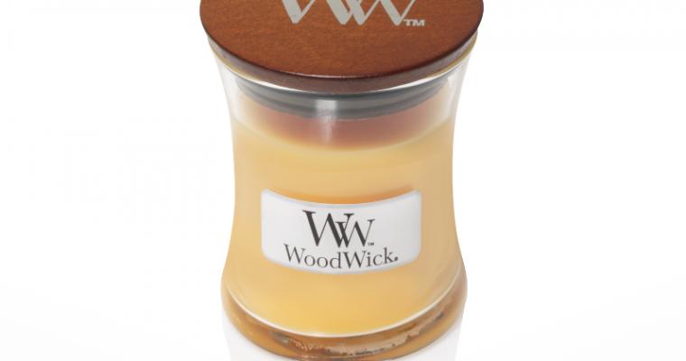 Woodwick Seaside Mimosa Mini kaars   98085E   Woodwick