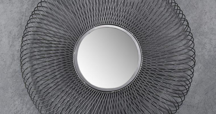 Spiegel 80 blade / Zwart nikkel  