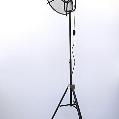 Vloerlamp metaal grijs 190 cm | 7439647095019