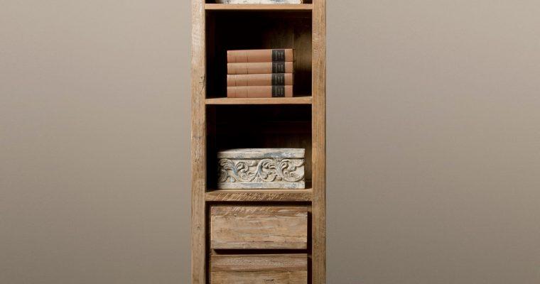 Tower Living Industriële Boekenkast 'Venetië' met 3 lades |