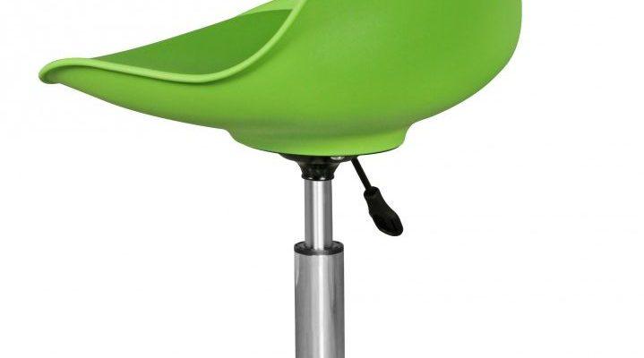 24Designs Bureaustoel Dex Office – In Hoogte Verstelbare Groene Kuipstoel Inclusief Wielen | 8719874348355