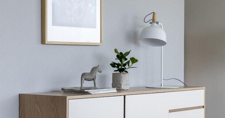 24Designs Dressoir Nysted 2-Deurs/3-Laden – 180x40x75 – Eiken | 5713941002457
