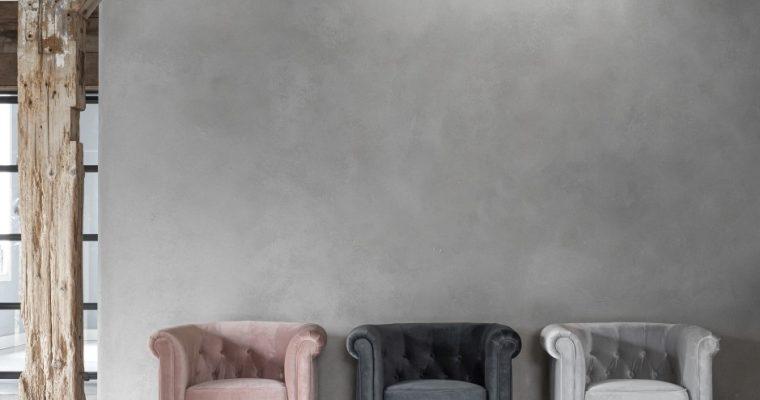 24Designs Queen Fauteuil – 80x72x75 – Fluweel Smooth Dark Grey | 8720146541084