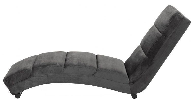 24Designs Relax Fauteuil Sneaky Velvet – Grijs Fluweel | 8720143240102