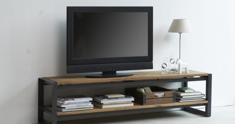 D-Bodhi Fendy TV Meubel – L220 X B40 X H40 Cm – Laag – Teakhout   8720146538831